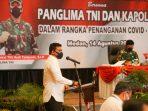 Bobby Nasution Paparkan Strategi Penanganan Covid-19 Dihadapan Panglima TNI-Kapolri