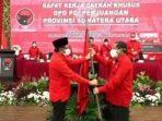 Gantikan Djarot, Mantan Bupati Samosir Jadi Ketua DPD PDIP Sumut