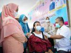 Pemkab Asahan Berikan Vaksinasi 30 Ibu Hamil, Targetnya 3.987 Orang