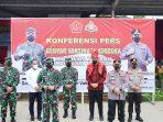 Panglima TNI-Kapolri Apreasiasi Bobby Nasution Gelar Vaksinasi di Pasar Induk, Pedagang pun Senang