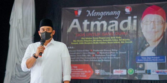 Hadiri 40 Hari Kepergian AS Atmadi, Bobby Nasution: Kita Lanjutkan Semangat Almarhum