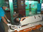 KNPI Sumut Bawa Putri Lase Dirawat Ke RS Pirngadi Medan
