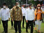 Gubernur Sumut dan Bupati Langkat Tinjau Vaksinasi Dosis II Warga Perkebunan