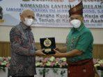 Danlantamal I Belawan Berkunjung Ke Kabupaten Asahan