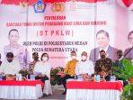 Wali Kota Medan Hadiri penyaluran BT PKLW dari Pemerintah Pusat