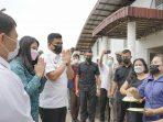Jalan Sudah Di Beton, Pedagang Pasar Lau Cih Ucapkan Terimakasih kepada Bobby Nasution