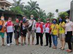 Foto bersama Suhu Elton Beserta Keluarga dan Pengurus DPD LSM LIRA Binjai, di Kediaman Pengobatan