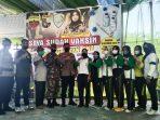 Ketua Wanita FKPPI Langkat Gelar Serbuan Vaksin TNI