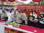 Polisi Gagalkan Penyeludupan 23 Kg Sabu dari Tanjungbalai, Turut Disita Senpi